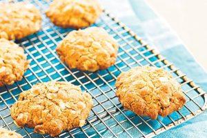 Anzac biscuits - ciastka kokosowo-owsiane