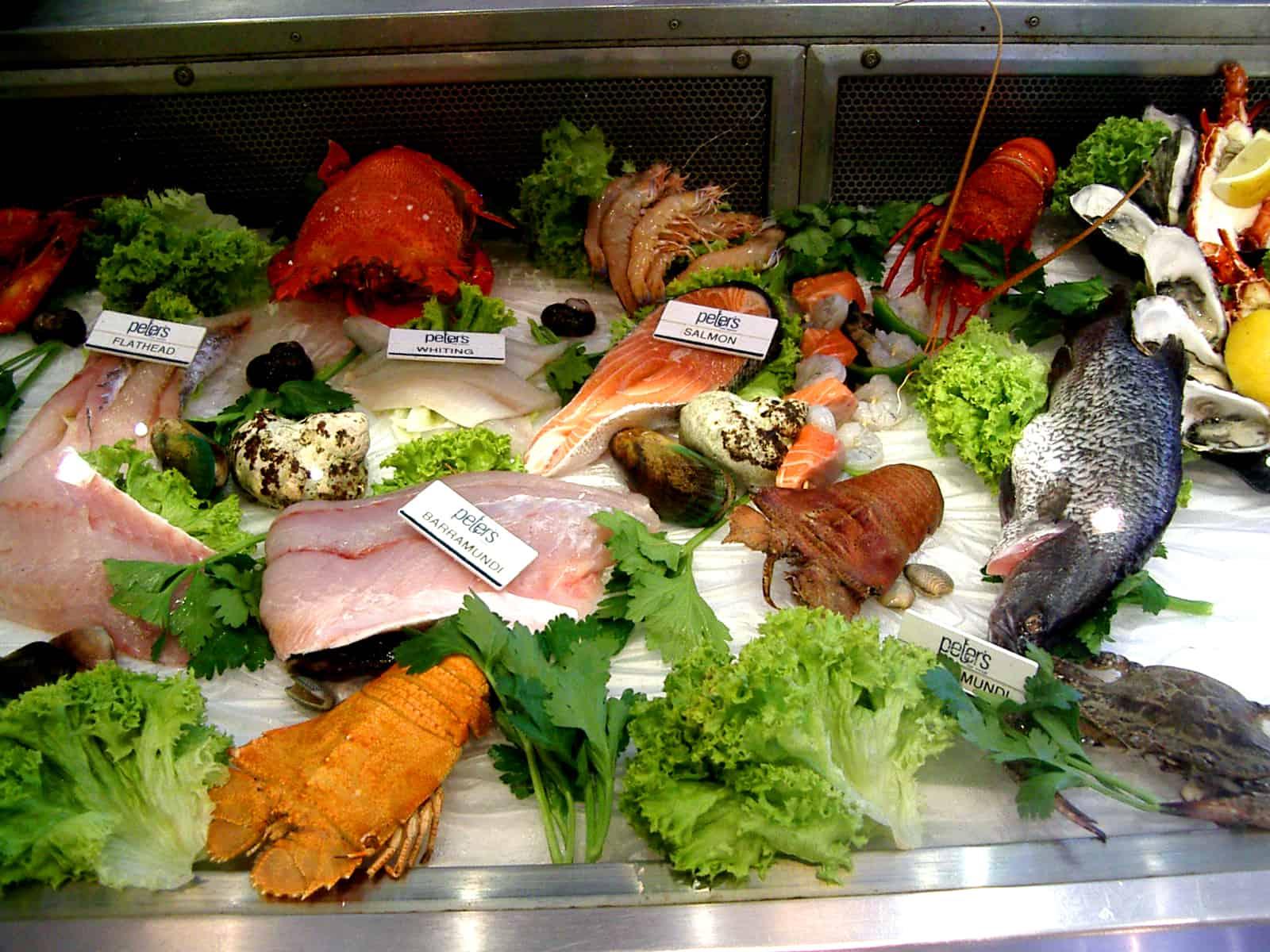 Kuchnia w Australii - owoce morza